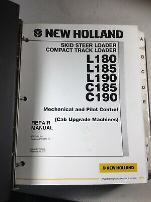 New Holland L180 L185 L190 C185 C190 Skid Steer Repair Service Manual