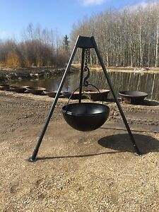 Metal fire bowls & cone liners