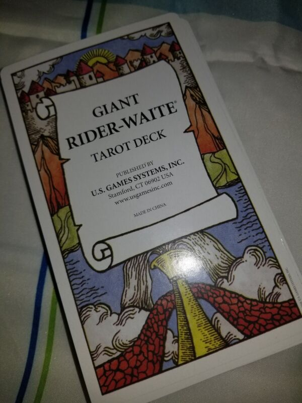 Single Replacement Card GIANT Rider-Waite  Excellent Condition!!! TAROT