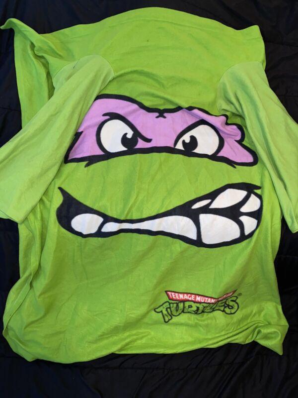 Teenage Mutant Ninja Turtle Wearable Blanket. Donatello Blanket.