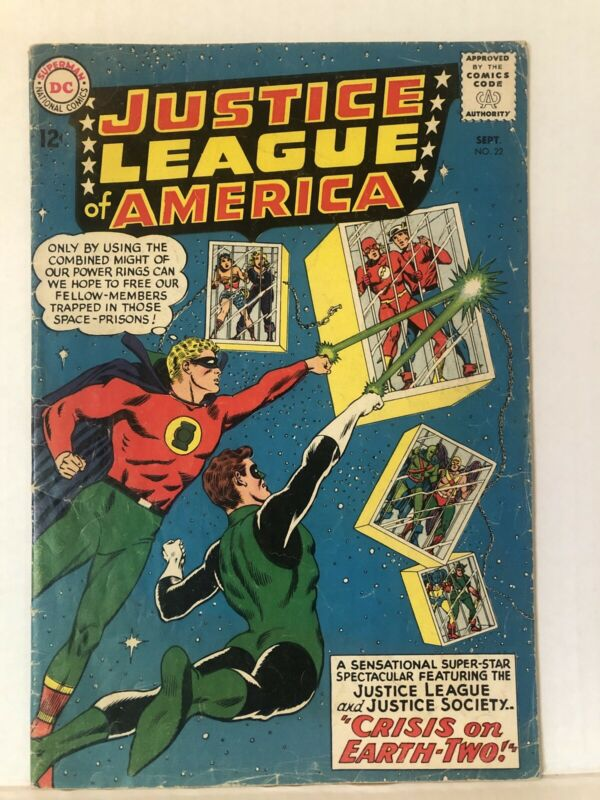 Justice League Of America #22 - Justice Society Of America Cross Over