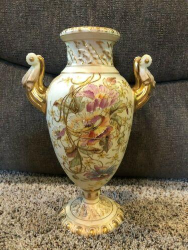 """Royal Rudolstadt - Vase - 10"""""""