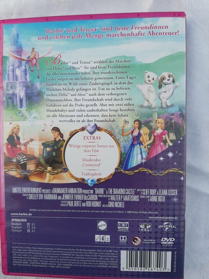 DVD Barbie und das Diamantschloss in Hessen - Schmitten