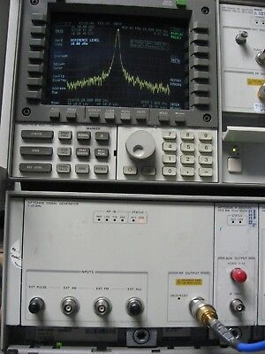 Hp 70340a Synthesized Signal Generator 1 - 20 Ghz1 Hz Resolution -90 To 13 Dbm