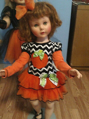 TOO CUTE HALLOWEEN DRESS FITS  SWEET SUE  & SIMILAR DOLLS