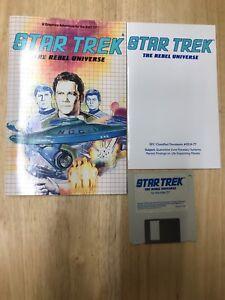 Star Trek the rebel universe for the Atari 5T