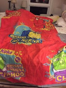 Chuggington twin duvet cover