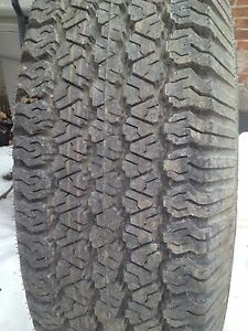 Goodyear wrangler 235/75R15 brand new tire