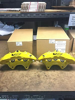 1 Piston Front Caliper - CTS-V CTSV Yellow 6 Piston Front Calipers Pair New GM 20982734 20982719 Cadillac