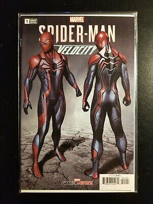 Spider-Man Velocity #1 1:25 Adi Granov Variant Marvel Comics NM Uncertified