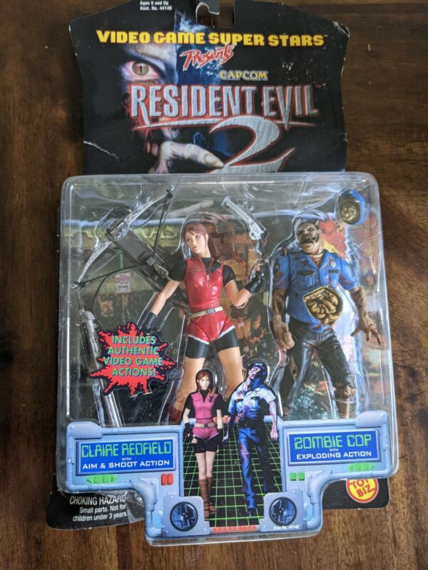 Resident Evil 2 Claire Redfield/EXPLODING Zombie Cop!!! 2-in-1!