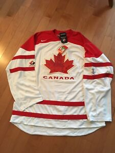 Team Canada White Vancouver Jersey
