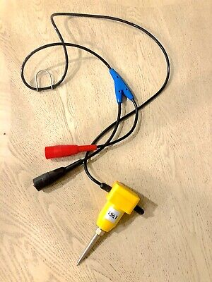 Geophone Sensor 4.5hz 375ohm Vert.geophone In Case 1m Lead Mueller Clip