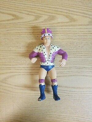 """1987 Titan Sports LJN King Harley Race With Crown WWF WWE 8"""" Figure Loose"""