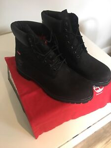 DS BRAND NEW SUPREME COMME DES GARCONS TIMBERLAND BOOTS SIZE 12