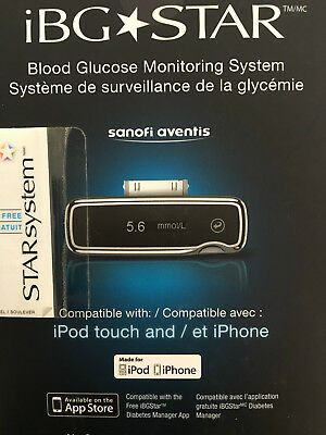 iBG Star Blood Glucose Monitoring System exp 2017/02 or