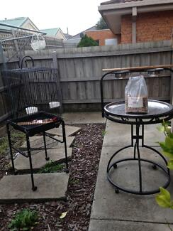 Parrot cage and stand for sale. Deer Park Brimbank Area Preview