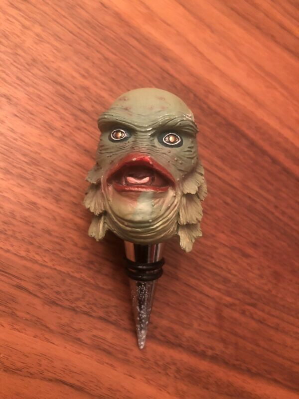 Universal Studios Creature From The Black Lagoon NECA Bobble Head Wine Stopper