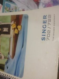 Singer instruction book Malaga Swan Area Preview