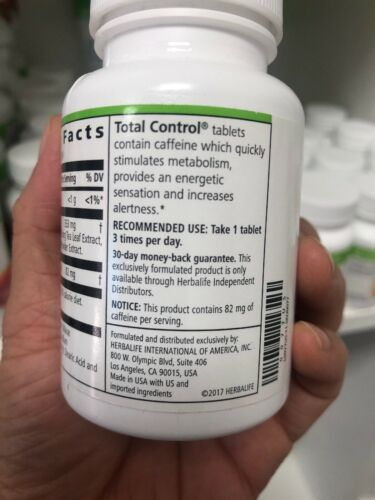 herbalife total control stimulates Metabolism Dietary Supplement EXP 2022 2