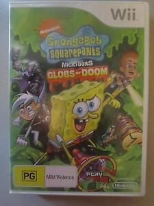 Spongebob Squarepants: Globs Of Doom For Wii Campbell North Canberra Preview