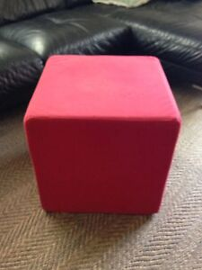 Red Ottoman/Foot Stool Bexley North Rockdale Area Preview