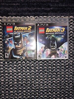 Ps3 Game Bundle. LEGO Batman 2 And 3 Dc Super Heroes