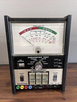 Sencore Tf-30super Cricket Parameter Tester