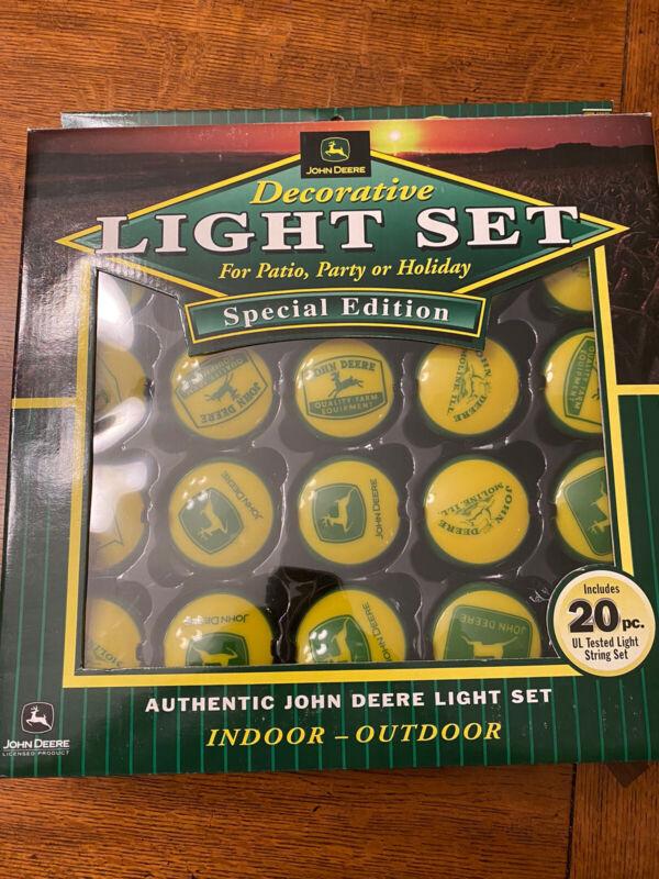John Deere Logo History Authentic Light Set - 20 Pieces