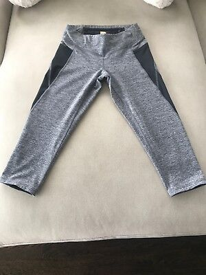 Lucy Activewear XS/TP Capris with 2 Side Pockets, 1 Zipped Receptacle & Drawstrings