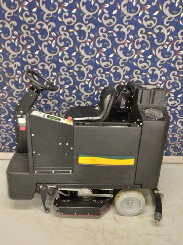 """NSS 33"""" ride on floor scrubber with new batteries & FREE shipping!"""