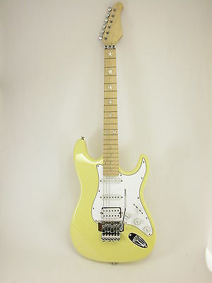 ELECTRIC GUITAR - CREAM CUSTOM - Locking Trem + STARS NEW!