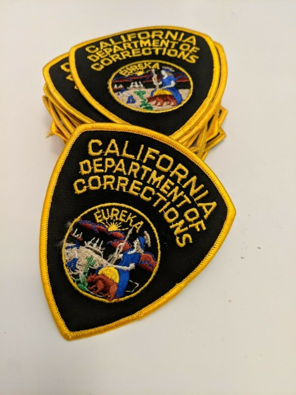 25 California Department of Corrections Police Patches 25 Total