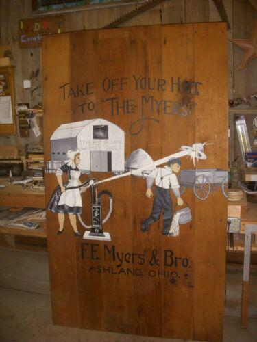 antique barn door myers pump & hay trolley & door rollers / antique folk art