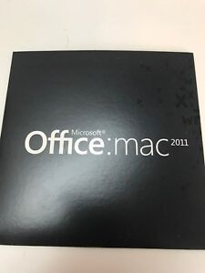 MS Office 2011 MAC