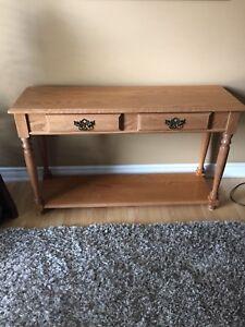 3 Solid Oak Tables/Set