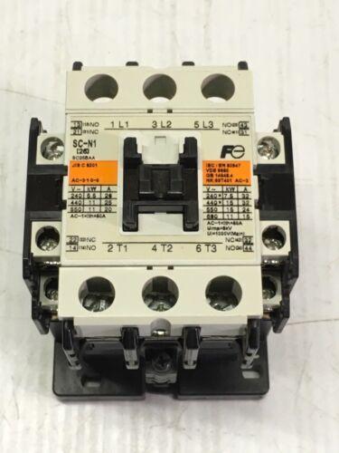 FUJI ELECTRIC SC-N1 MAGNETIC CONTACTOR SC25BAA