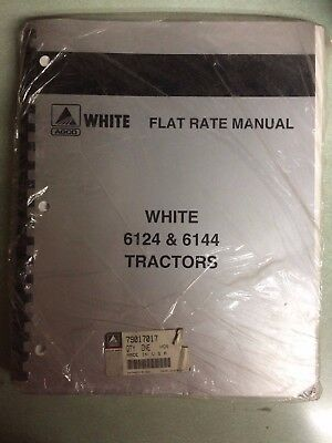 New In Package - Agco White 6100 Series Tractors Flat Rate Manual