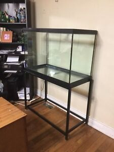 70 Gallon Aquarium For Sale. with stand