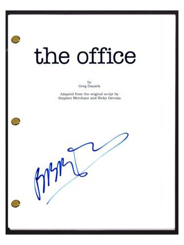 Brian Baumgartner Signed Autographed THE OFFICE Pilot Episode Script KEVIN COA
