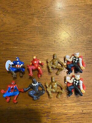 Lot Of 8 2019 Kinder Surprise Marvel Avengers Mini Toy Figures Spider-Man +