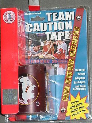 NCAA Tailgate - Caution Tape, Florida State Seminoles, NEW ()