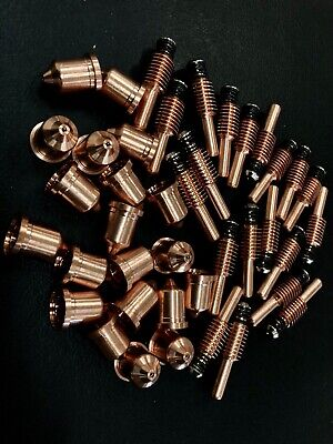 20pcs 220842 Plasma Torch Electrode 20x220816 Plasma Tips For Hypertherm