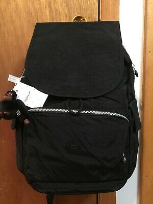 KIPLING ZAK BACKPACK DIAPER BAG BLACK; NWT