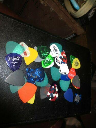 Assortment of Medium Picks- Fender -Dunlop and others - over 3 dozen- item m-36+
