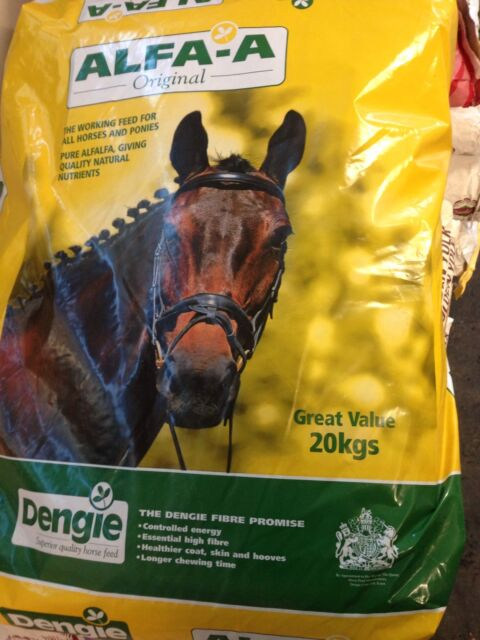 DENGIE ALFA A ORIGINAL 20Kg  Horse Feed