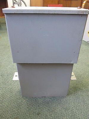 Fpe Cornell Dubilier Power Capacitor Ics0025d33 25 Kvar 240v 60hz 3ph Used