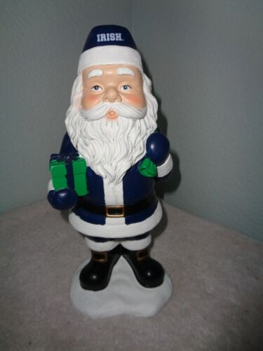 Spirit Products Notre Dame Irish Santa Figurine