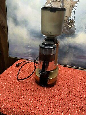 Fama Industrial Electric Coffee Bean Espresso Grinder Machine Made In Italy