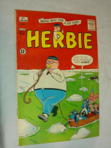 Herbie #1 VG Classic ACG Nothing is impossible LOOK